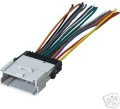 SCOSCHE GM04B 2000-05 Car Stereo Wiring Harness Compatible with 2000-Up Saturn L-Series /& S-Series Coupe Sedan and Wagon