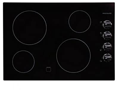 "Frigidaire FFEC3024L 30"" Electric Cooktop with Ready-Select Controls and Color-Coordinated Control Kn,"