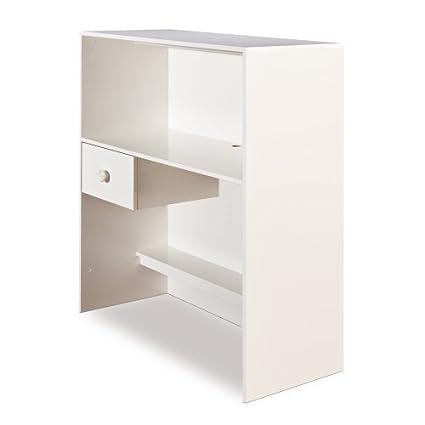 South Shore Furniture, Logik Collection, Loft Desk, Pure White