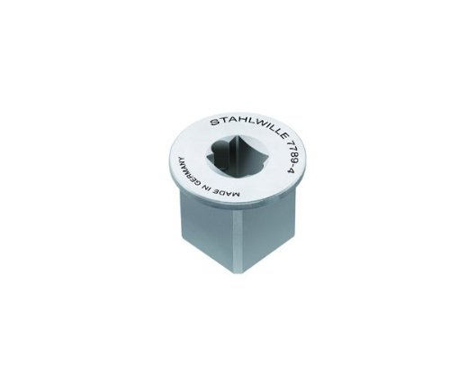 Stahlwille Adaptor (Stahlwille 7789-4 Square Drive Adaptor, 29mm Diameter, 15.5mm Length, 1/4