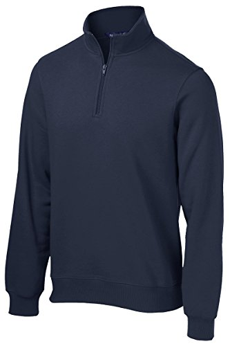 Sport-Tek Men's 1/4 Zip Sweatshirt XXL True Navy