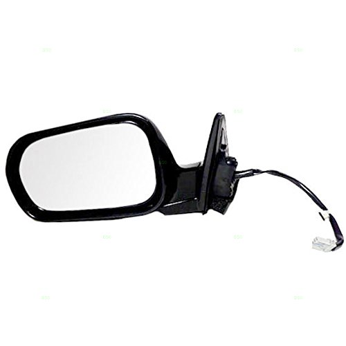 Drivers Power Side View Mirror Ready-to-Paint Replacement for Honda Coupe 76250-S82-K21ZH Coupe Power Mirror