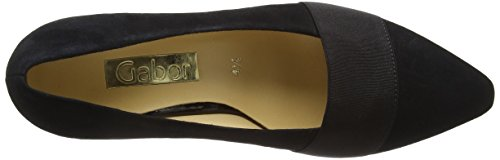 Gabor 45-141-17, Women's Court Shoes Black (Schwarzes Wildleder)