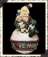- Boyds Bears Ornament - Love Much