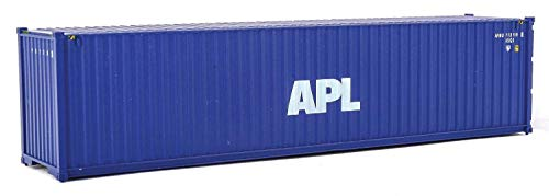 Walthers SceneMaster 40' Hi-Cube Corrugated Container American President Lines APL - Assembled Train Collectable Train