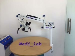 Tathastu Table Clamp, Dental Microscope, 5 Step, With Video Camera & Monitor from Tathastu
