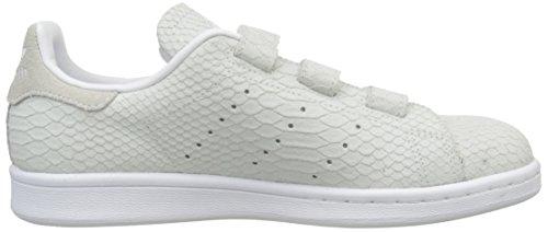 adidas Damen Stan Smith Sneakers, Weiß Blanc (Ftwr White/Ftwr White/Ftwr White)