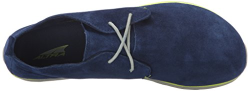 Altra Mens Shoe Quotidiana Desert Boot Blu / Lime