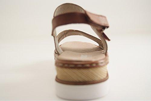 Rieker - Zapatos de vestir para mujer MARRON MOYEN