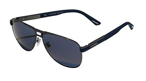 Sunglasses Chopard SCHB 80 Shiny Gunmetal 584B (Sunglasses For Men Chopard)
