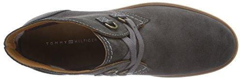 Tommy Hilfiger TAHLEA 5B - botas chukka de cuero mujer gris - Grau (DARK SHADOW 098)
