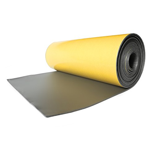 Noico WP 150 mil 36 sqft car waterproof insulation heat and cool liner, Closed Cell PE Foam CCF Self-adhesive Sound Deadening Material (1/6