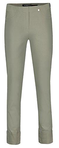 Robell Bella Slim Fit 7/8 Stretchhosen Schlupfhosen Damen Hosen #Bella versch.Farben (38, khaki)