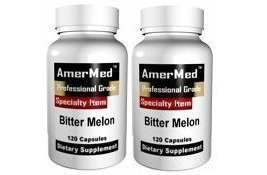 AMERMED BITTER MELON 10:1 EXTRACT, 120 CAPSULES, 2-PACK