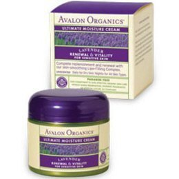 Therapeutic Organic Lavender Skin Care-Ultimate Moisture Cream - 2 oz. - by Avalon BEAUTY (Therapeutic Organic Lavender Skin Care)