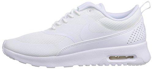 De Nike Mujer Air Thea Max Para bianco Zapatillas Wmns Blanco Deporte q8wr8BXx