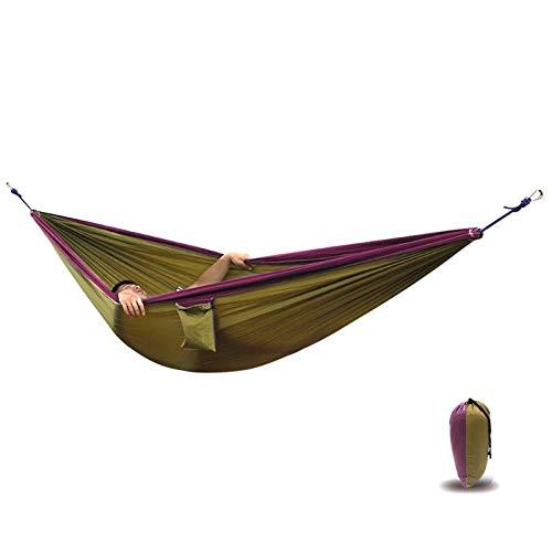 Hammocks - 300x200cm Double Person Hammock Outdoor Hanging Sleeping Bed Swing Portable Chair Hamac Camping - Kw Single Tent Inside Hennessy Bear Esup Mini Heavy - Hammock Ferret Tent
