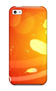 Iphone 5c Orange Tpu Silicone Gel Case Cover. Fits Iphone 5c 3729178K46713357