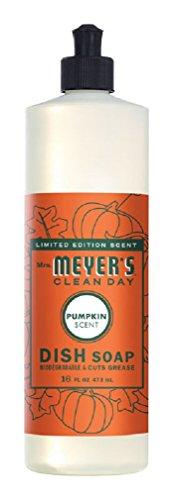 Mrs Meyer's, Soap Dish Liquid Pumpkin, 16 Ounce