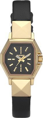 Diesel Analog Three-Hand - Black and Gold Women's watch #DZ5226