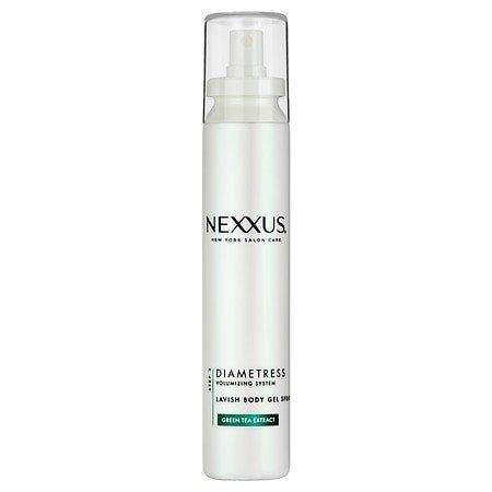 PACK OF 4 - Nexxus Diametress for Fine and Flat Hair Volume Body Gel Spray, 5.1 oz