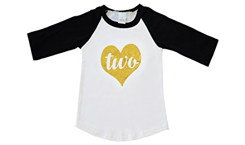 Two Year Old Birthday Shirt, Baby Girl Second Birthday Outfit (2T, (Old Fashioned Girl Dresses)