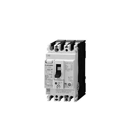 MITSUBISHI ELECTRIC NV63-CVF 2P 60A 30MA Earth-Leakage Circuit Breakers (Harmonic Surge Ready)(Economy class)(2 Poles)(Frame 60A)(Front connestion) NN ()