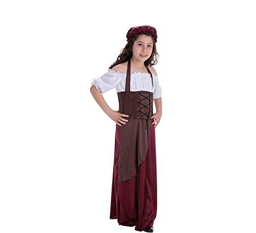 LLOPIS - Disfraz Infantil tabernera t-m: Amazon.es: Juguetes y juegos