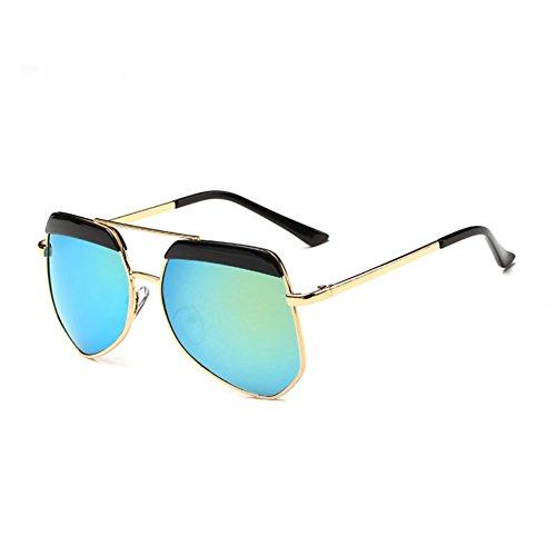 Sinkfish SG80022 Sunglasses for Women,Dazzling Color Oval Non-Polarizer - UV400/Goldenrod - Prices Sunglasses Blumarine