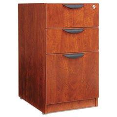 -- Valencia 2 Box/1 File Full Pedestal, 15-5/8w x 20-1/2d x 28-1/2h, Medium Cherry