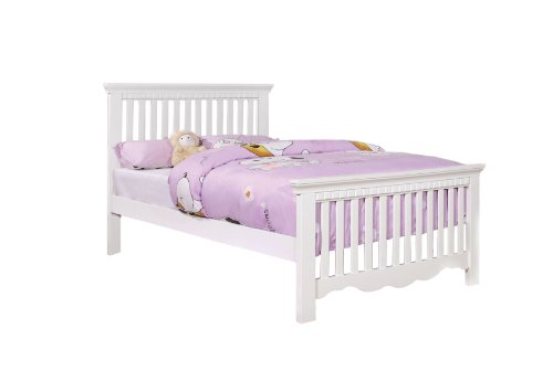 Product reviews buy furniture of america upton white for Furniture of america bed reviews