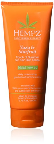HEMPZ Yuzu & Starfruit Touch of Summer Self-Tanning Creme Fa