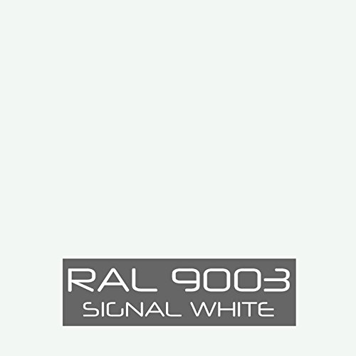 RAL 9003 Signal White Powder Coating Paint (1 - Powder Gloss White Coat