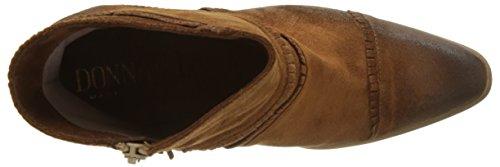 Donna Piu Damen 52824 Palma Kurzschaft Stiefel Marron (Velours Marron Tabacco)