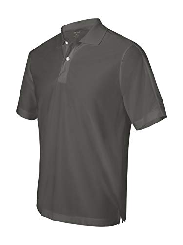 Izod Men's Performance Pique Polo (Thunder Cloud) (L) ()