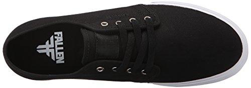 Fallen Men's Forte Slim Skate Shoe Black 2ffUGIbOfz