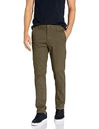 SOUTHPOLE Flex Stretch Basic Long Chino Pantalones Pantalones Casuales para Hombre