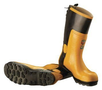with Protective Size CLO001 Cap Steel Chainsaw Toe Boots Rubber McCulloch 40 5BCXw4xX