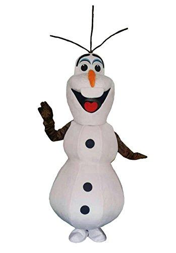 Olaf Mascot Costume for adults