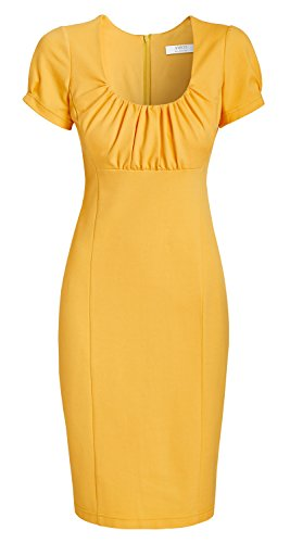 von Gelb TV Annett Kollektion aus Summer Sunrise Love Star Kleid Business Möller Yellow der AMCO fashion Damen qFPpSp