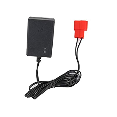 New 6 Volt Battery Charger for BMX X6 Kid TRAX Disney GMC Dinsney Wal-Mart Kid TRAX Moto ATV Quad Disney Ride On Car Red Square Plug, 6V Kids Ride On Car Charger: Home Audio & Theater