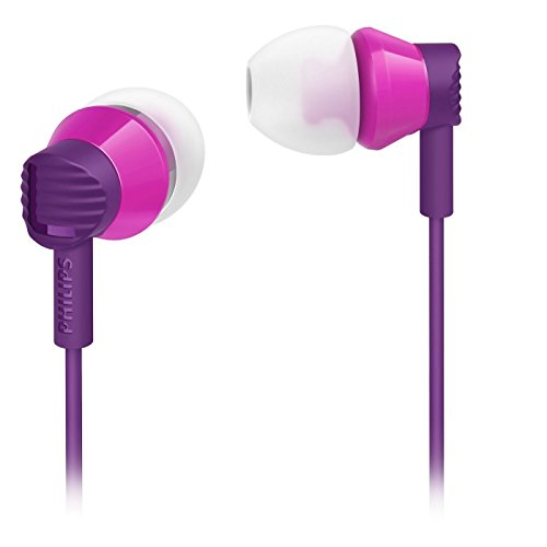 Philips In-Ear Headphones SHE3800 Purple
