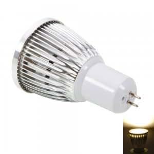 G5.3 5W 400-450LM 2800-3200K Warm White Dimmable LED Spotlight Bulb (220V)