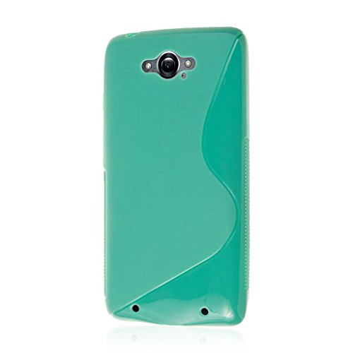 Motorola Droid Turbo Case, MPERO FLEX S Series Protective Case for Motorola DROID Turbo (NOT Compatible with Ballistic Nylon Back) - Mint Green