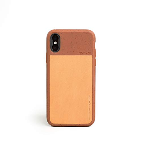 (iPhone Xs Case || Moment Photo Case in Terra Cotta - Thin, Protective, Wrist Strap Friendly case for Camera Lovers.)