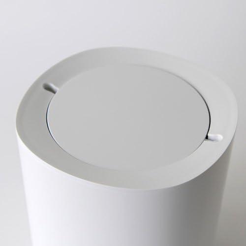 Alessi Birillo PL10 W Cestino di Design in PMMA Bianco