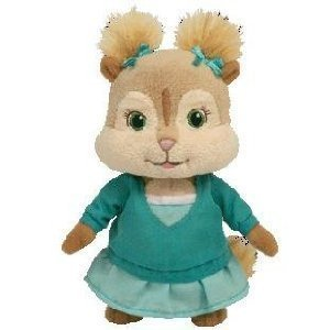 "Ty Alvin and the Chipmunks 6"" Eleanor Plush ..."