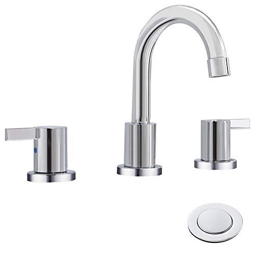 8 inch bathroom faucet chrome - 3