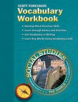 Vocabulary Workbook - Scott Foresman Social Studies: The World