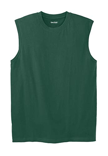 Lightweight Cotton Muscle Shirt, Hunter Big-2XL ()